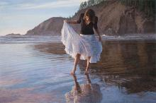 Steve Hanks   Reflecting On Indian Beach