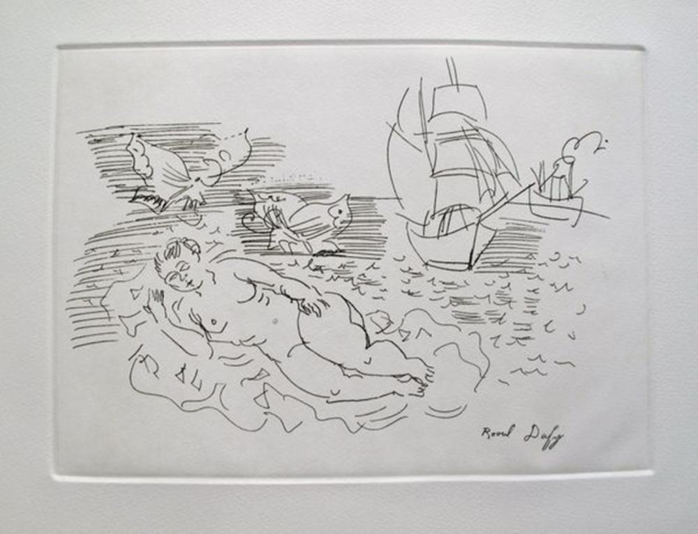 Raoul Dufy  On The Beach