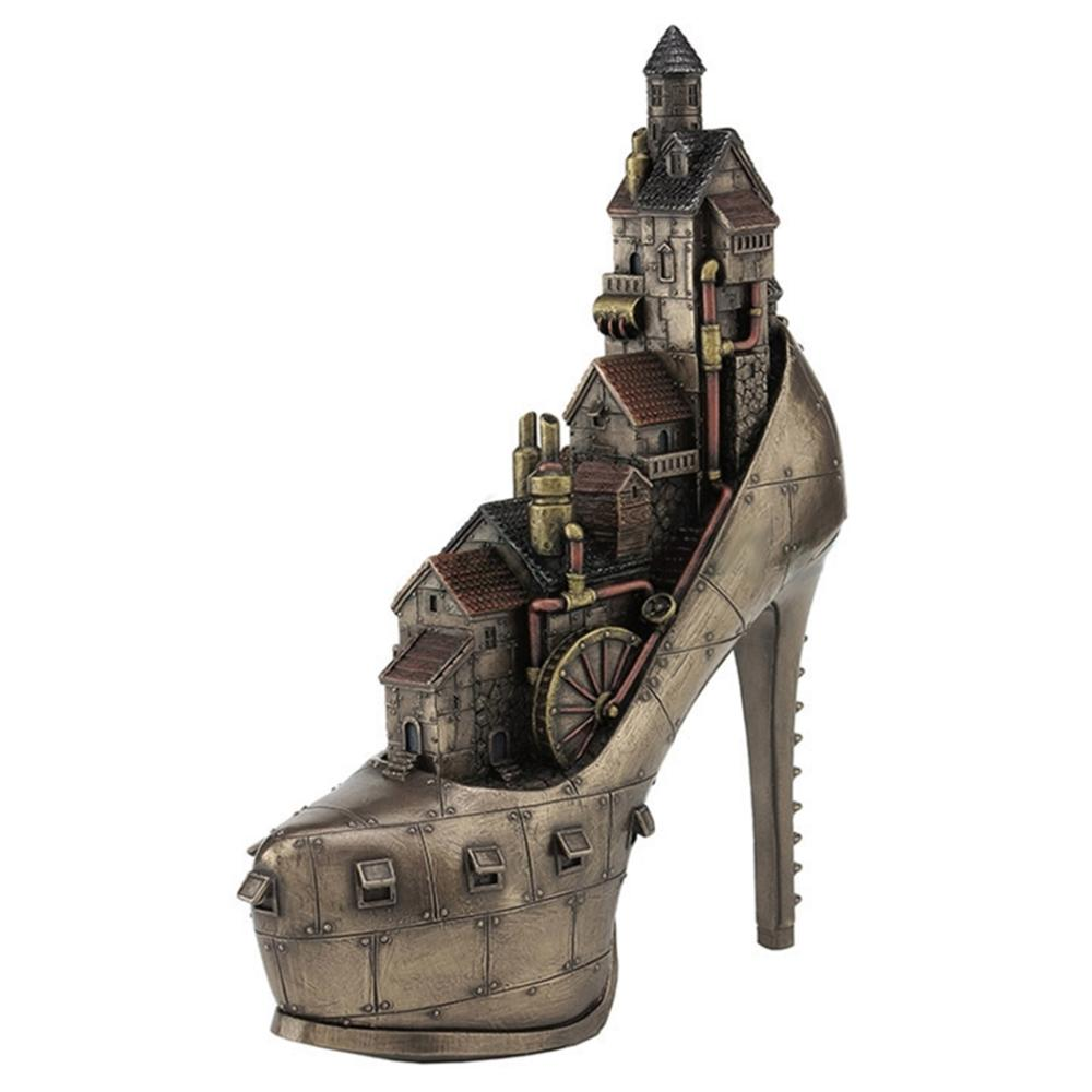 "Steampunk ""Stiletto Hill, Ironopolis"""