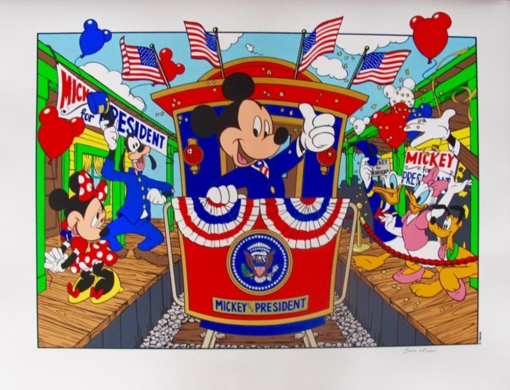 Disney Mickey Mouse  Mickey Mouse For President