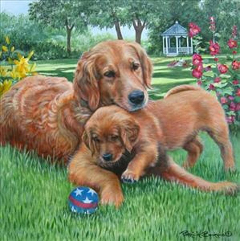 Patricia Bourque - Mom & Pup