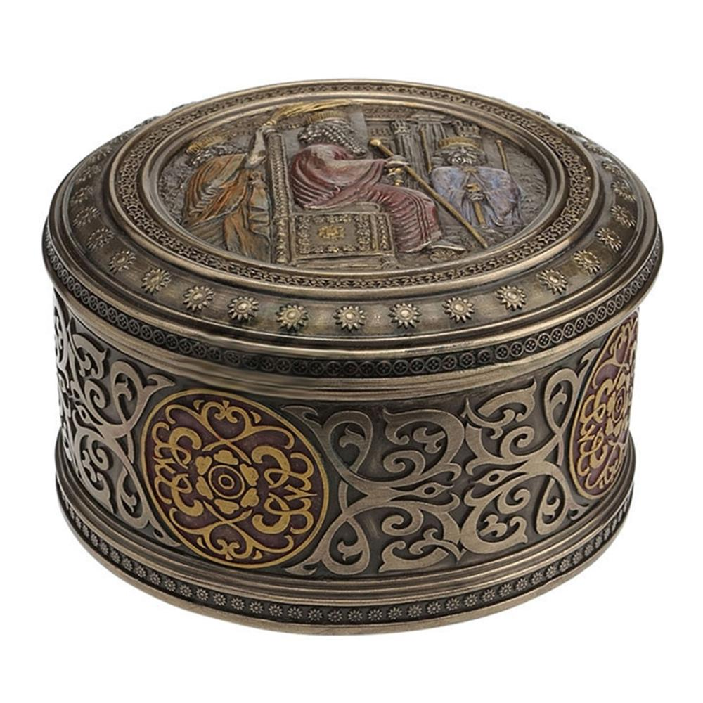 Darius The Great - Round Trinket Box