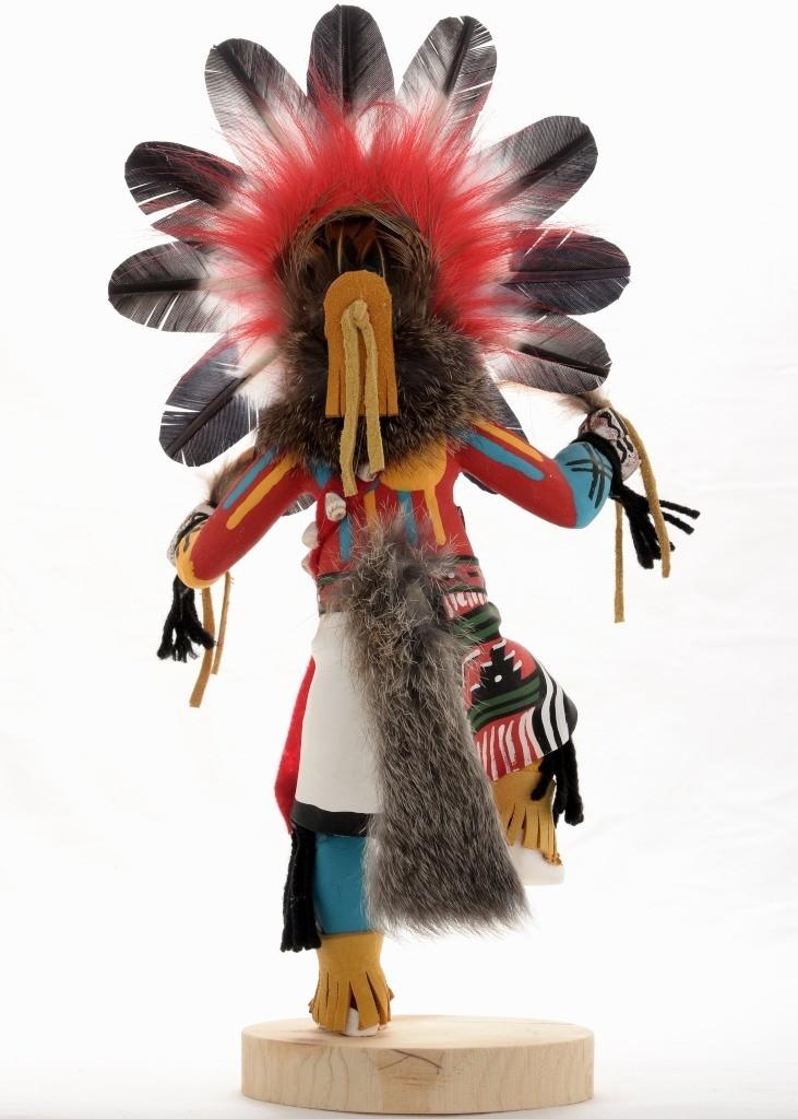 Sunface Kachina Doll Navajo Indian Handmade