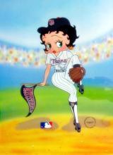 Betty Boop Minnesota Twins Baseball