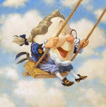 Scott Gustafson - Humpty Dumpty Sat On A Swing