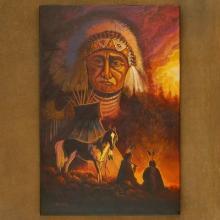 Buffalo Creek Navajo Limited Edition Giclée Print by JC Black