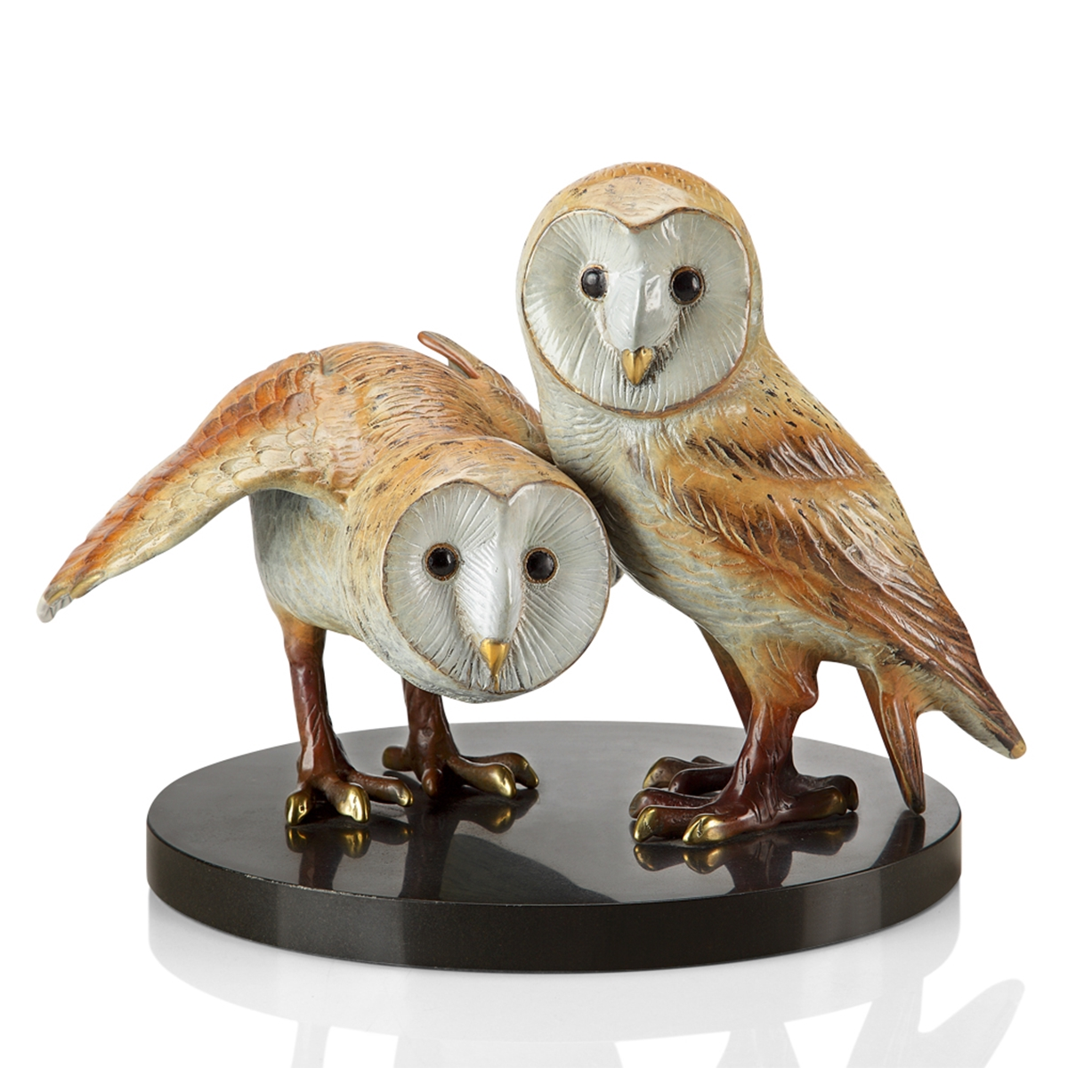 Lot - Wise Pair (Barn Owls)