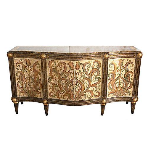 carved fleur cabinet. Black Bedroom Furniture Sets. Home Design Ideas