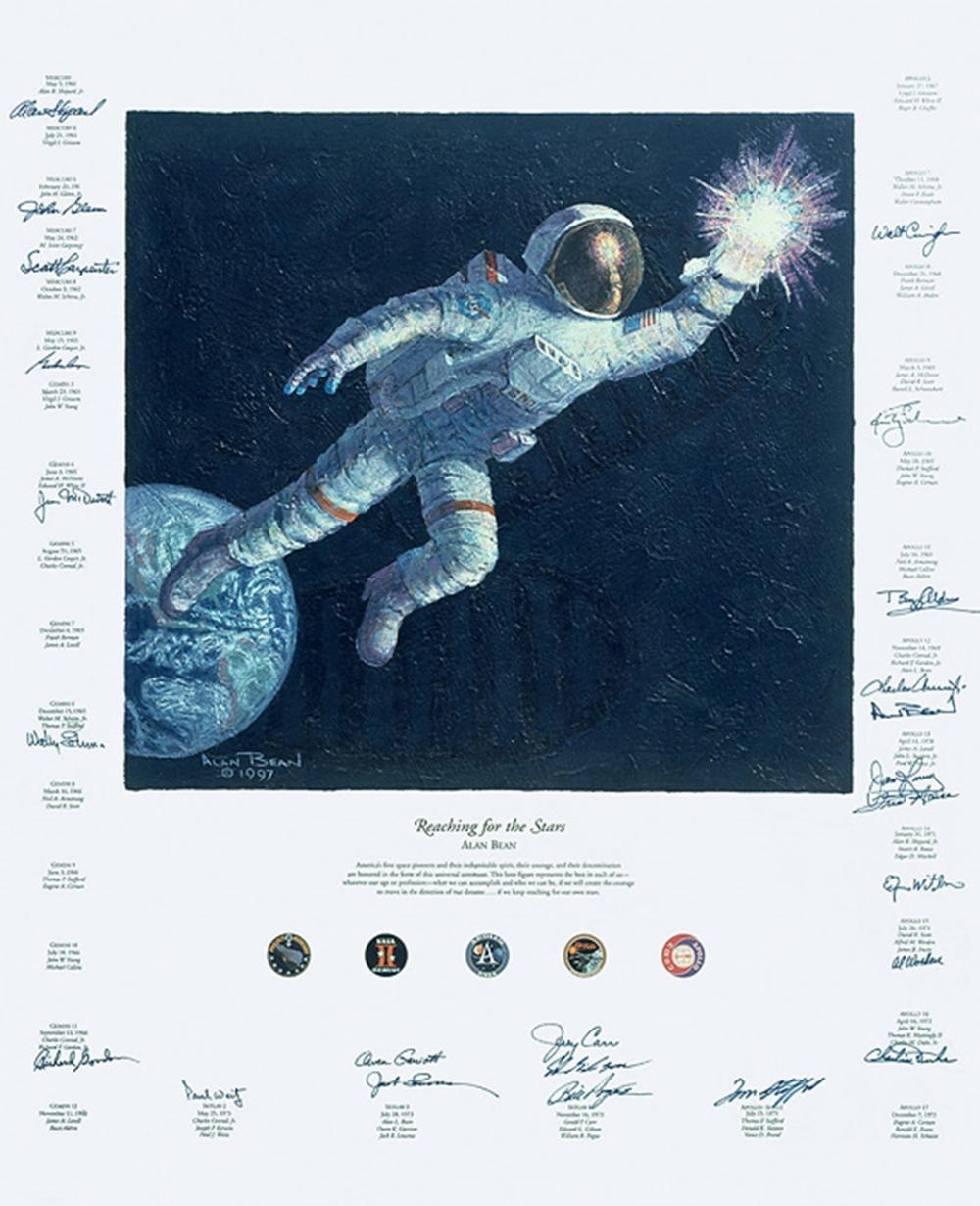 astronaut reaching for the stars - 600×738