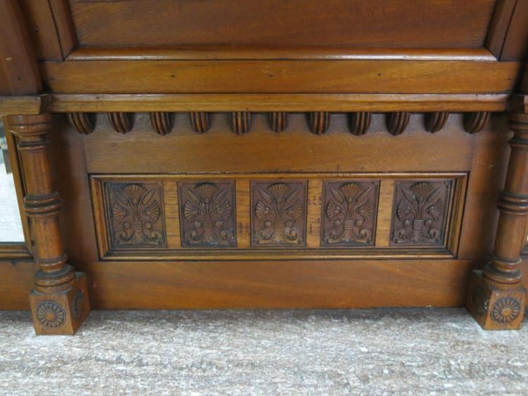 Aesthetic movement carved walnut sideboard for Sideboard sandeiche