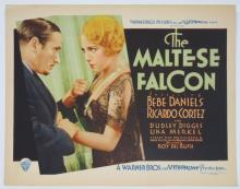 Important Pre-Code Movie Lobby Card Auction
