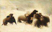 Hugh Bolton Jones, Untitled (The Good Shepherd Leading the Lost Sheep)