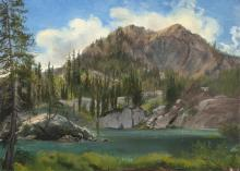 Frederick W. Billing, Lake Martha, Near Briton