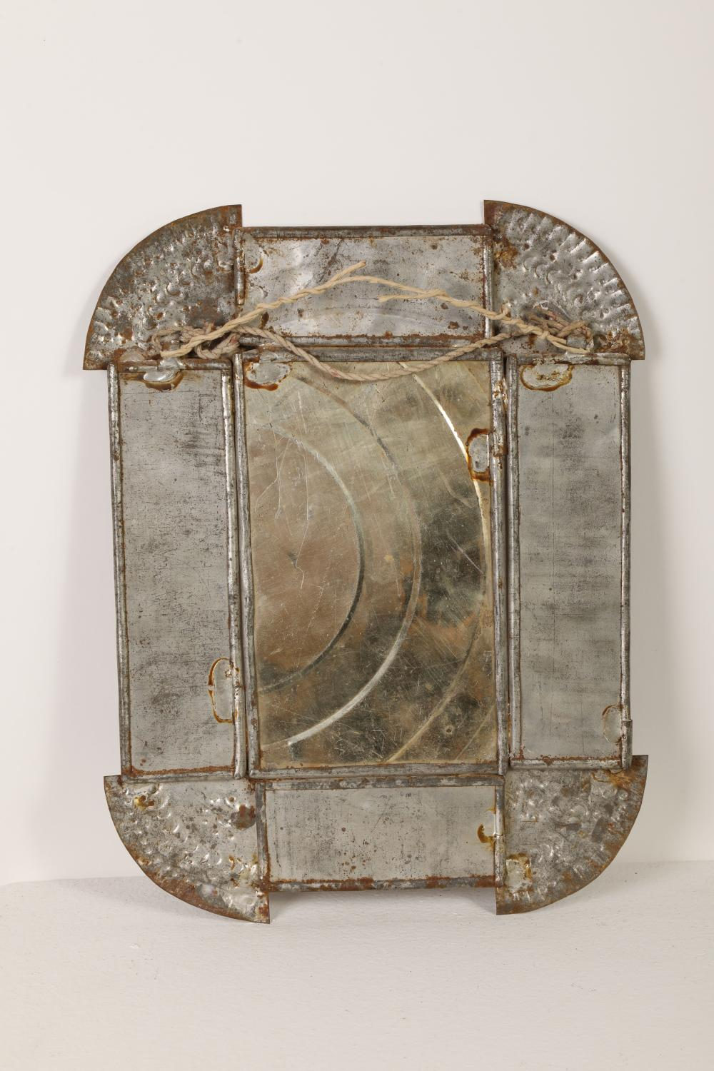Tin Frame with Devotional Print , ca. 1885