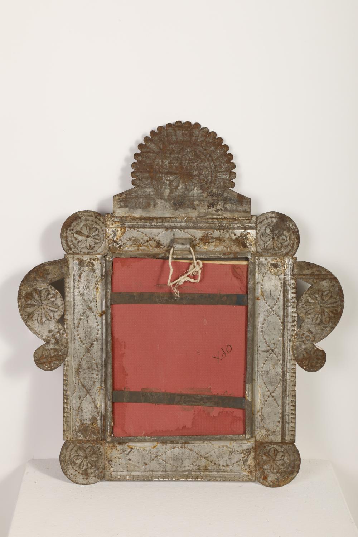 Tin Frame with Photograph, ca. 1885-1910