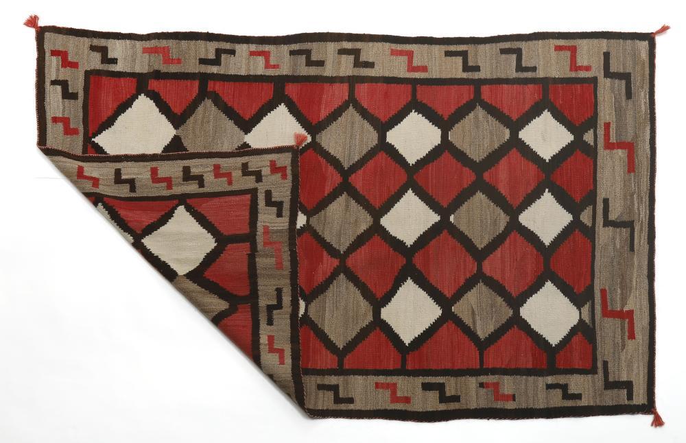 Navajo, Optical Rug, ca. 1930