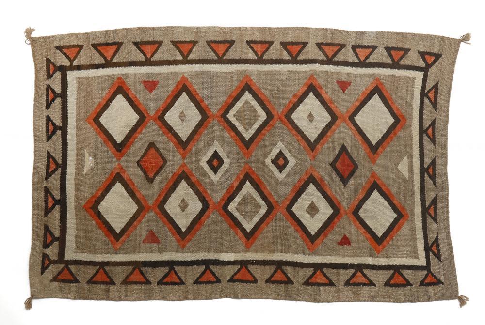 Navajo, Crystal Area Rug, ca. 1920