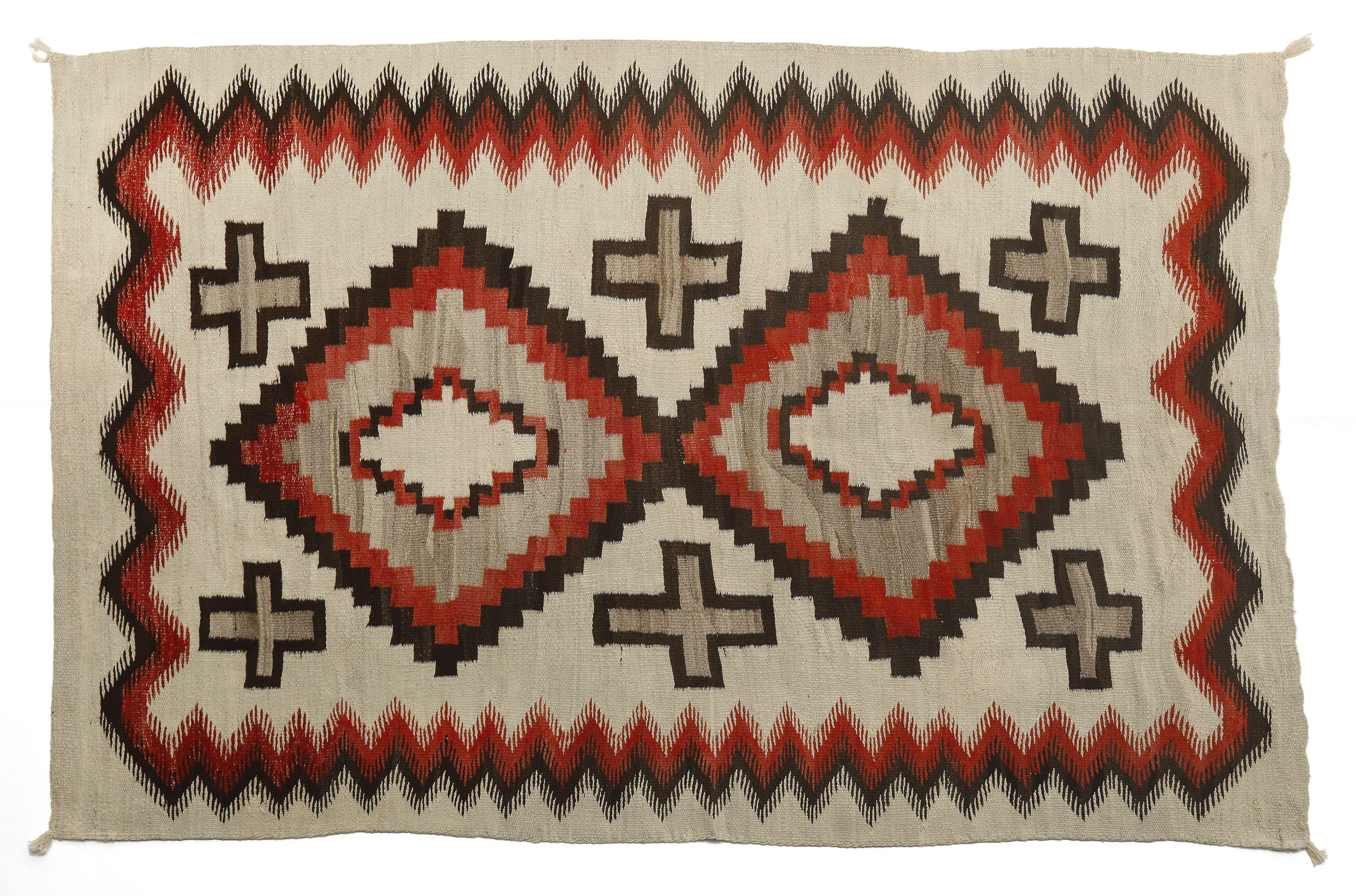 Navajo, Late Transitional Ganado, ca. 1890-1920