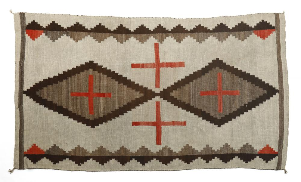 Navajo, Late Transitional Blanket, ca. 1910
