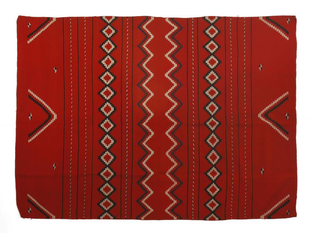 Navajo, Germantown Serape, ca. 1885-1890