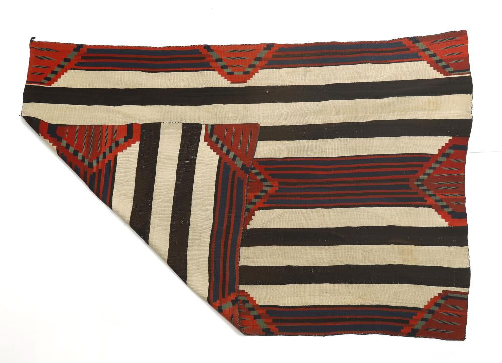 Navajo, Third Phase Chief's Blanket, ca. 1865-1875
