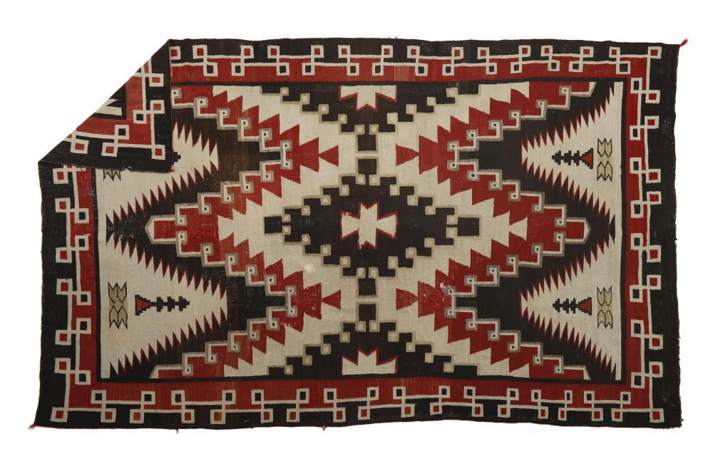 Navajo, Crystal Area Rug, ca. 1910