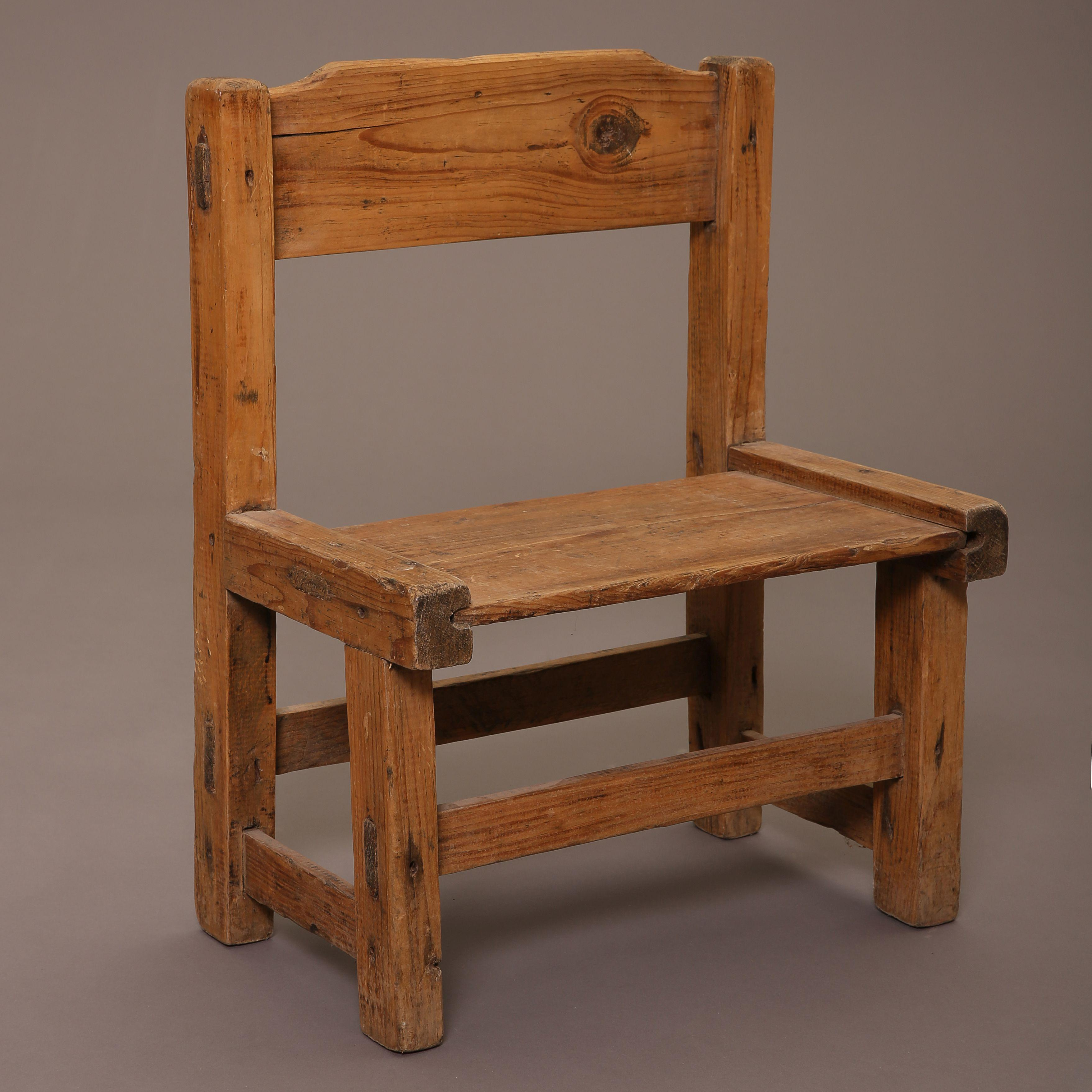 New Mexico, Group of Three Children's Chairs