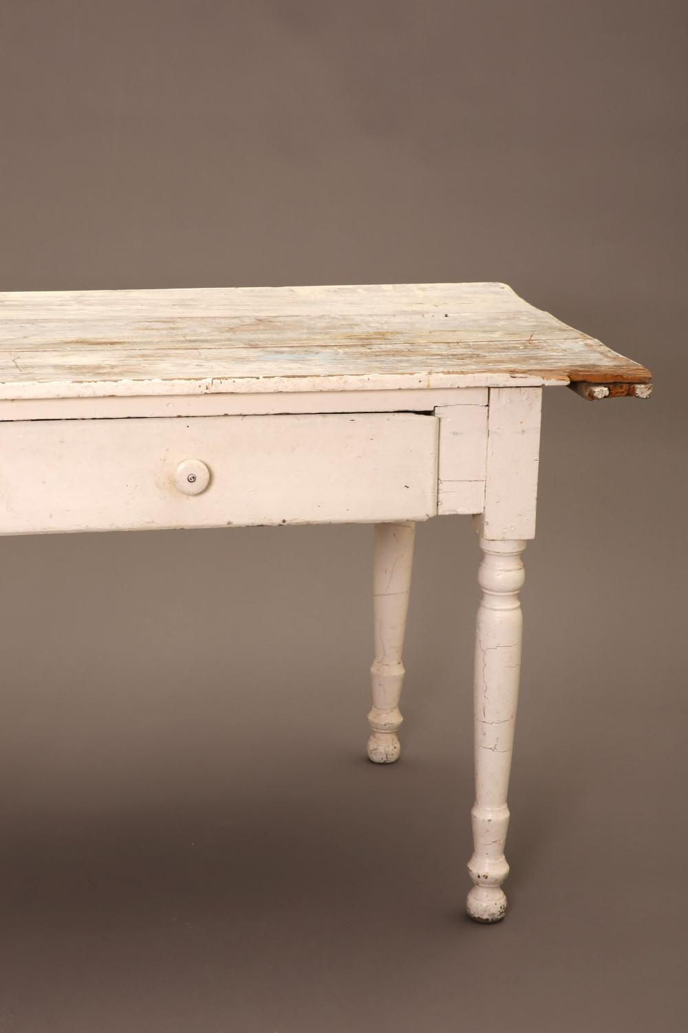 New Mexico, Table with Large Drawer, ca. 1925