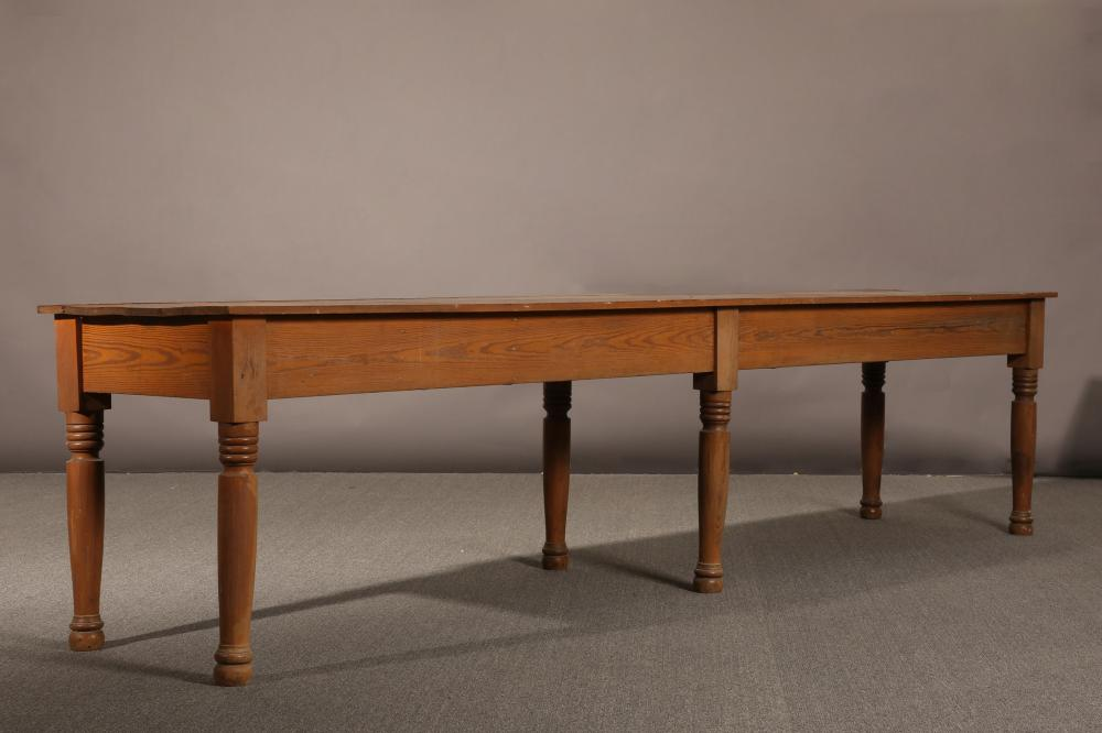 American, Long Library Table, 20th Century