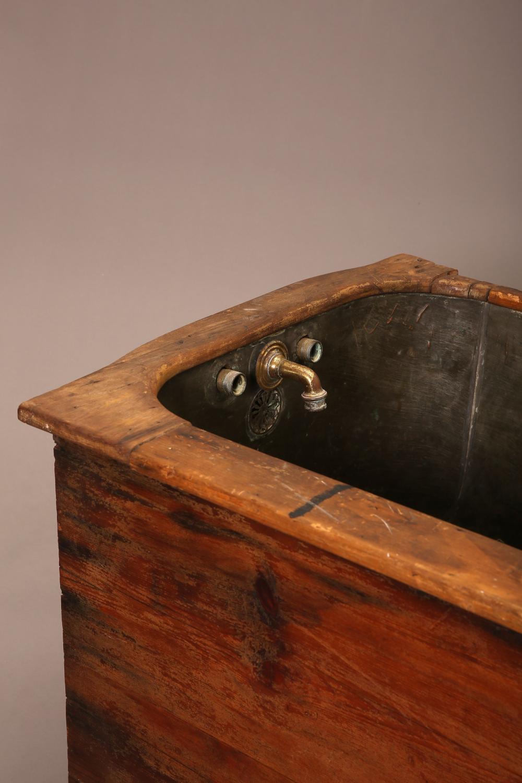 American, Copper Basin Bathtub, ca. 1860-1870