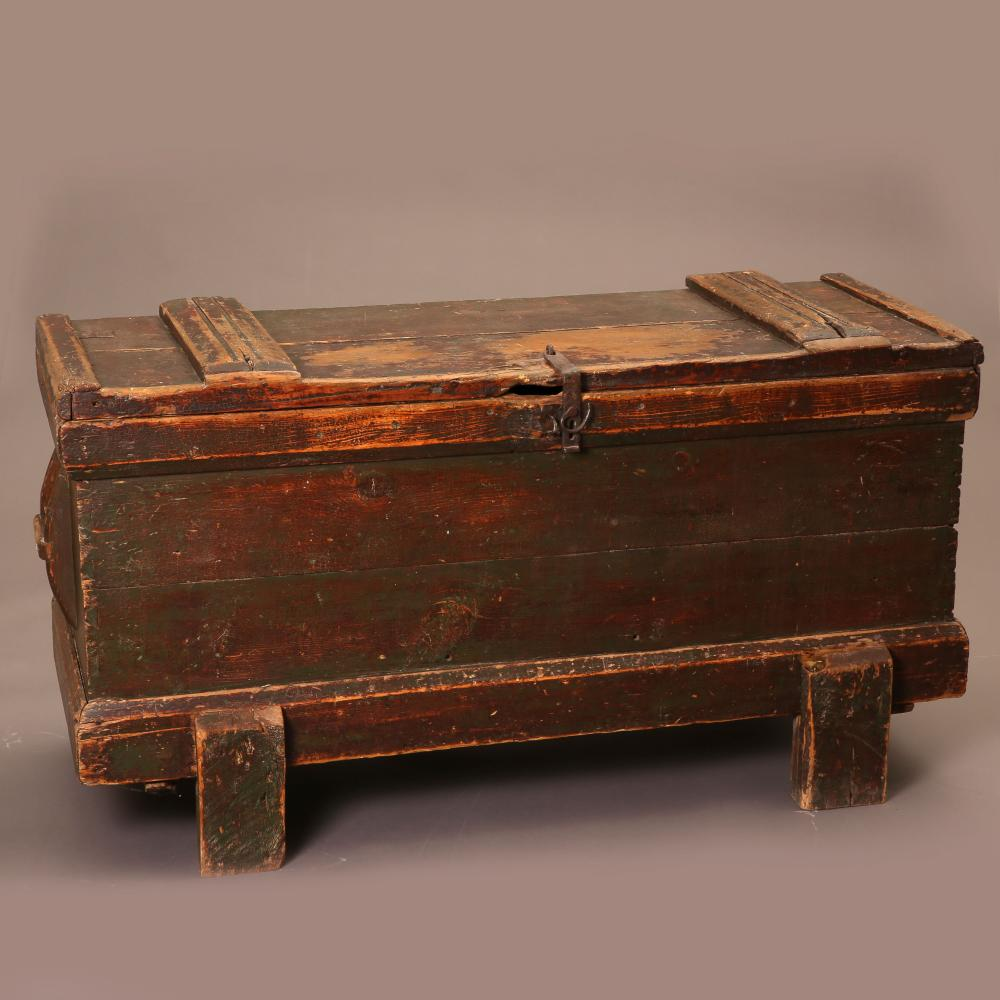 New Mexico, Painted Chest on Legs, ca. 1860-1890