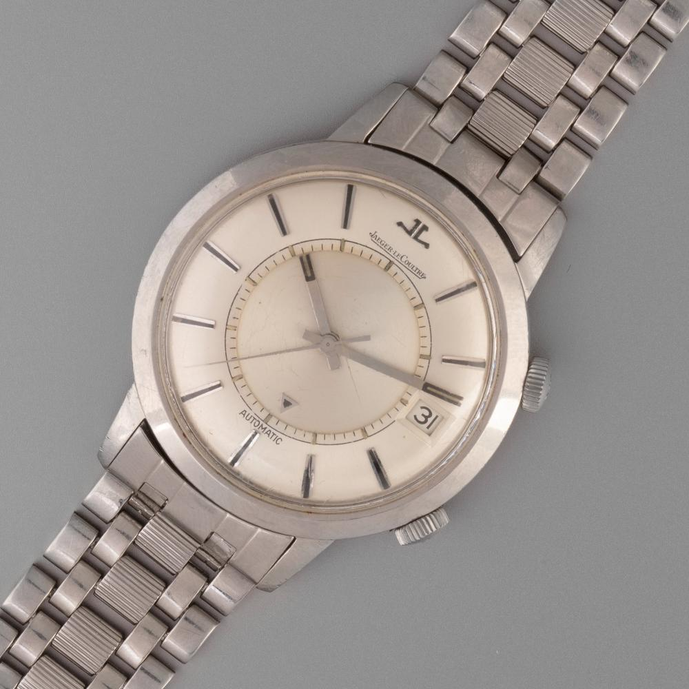 Jaeger LeCoultre, Stainless Steel Jumbo Memovox Alarm Watch Ref. 855, ca. 1962