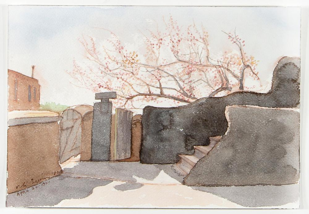 Eli Levin, Spring Blossoms, 1980