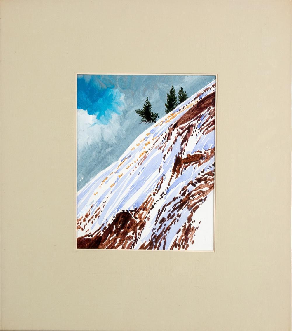 Buffalo Kaplinski, Two Paintings