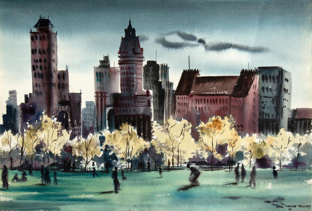 Earl Vincent Murphy, Untitled (Central Park, NYC), 1941