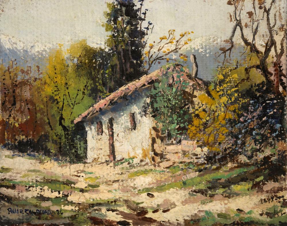 Carlos Ruiz Zaldivar, Rancho Blanco, Aconcagua - Chile, 1986