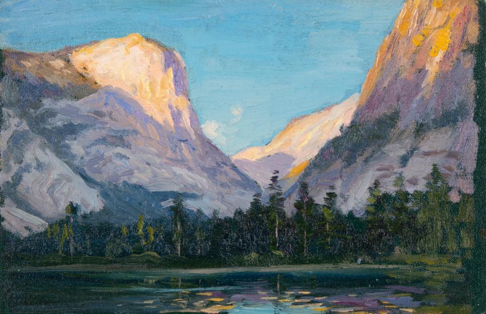 Eliot Clark, Four Paintings of Yosemite