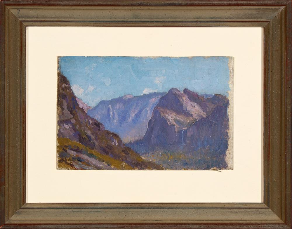Eliot Clark, Four Paintings of Yosemite