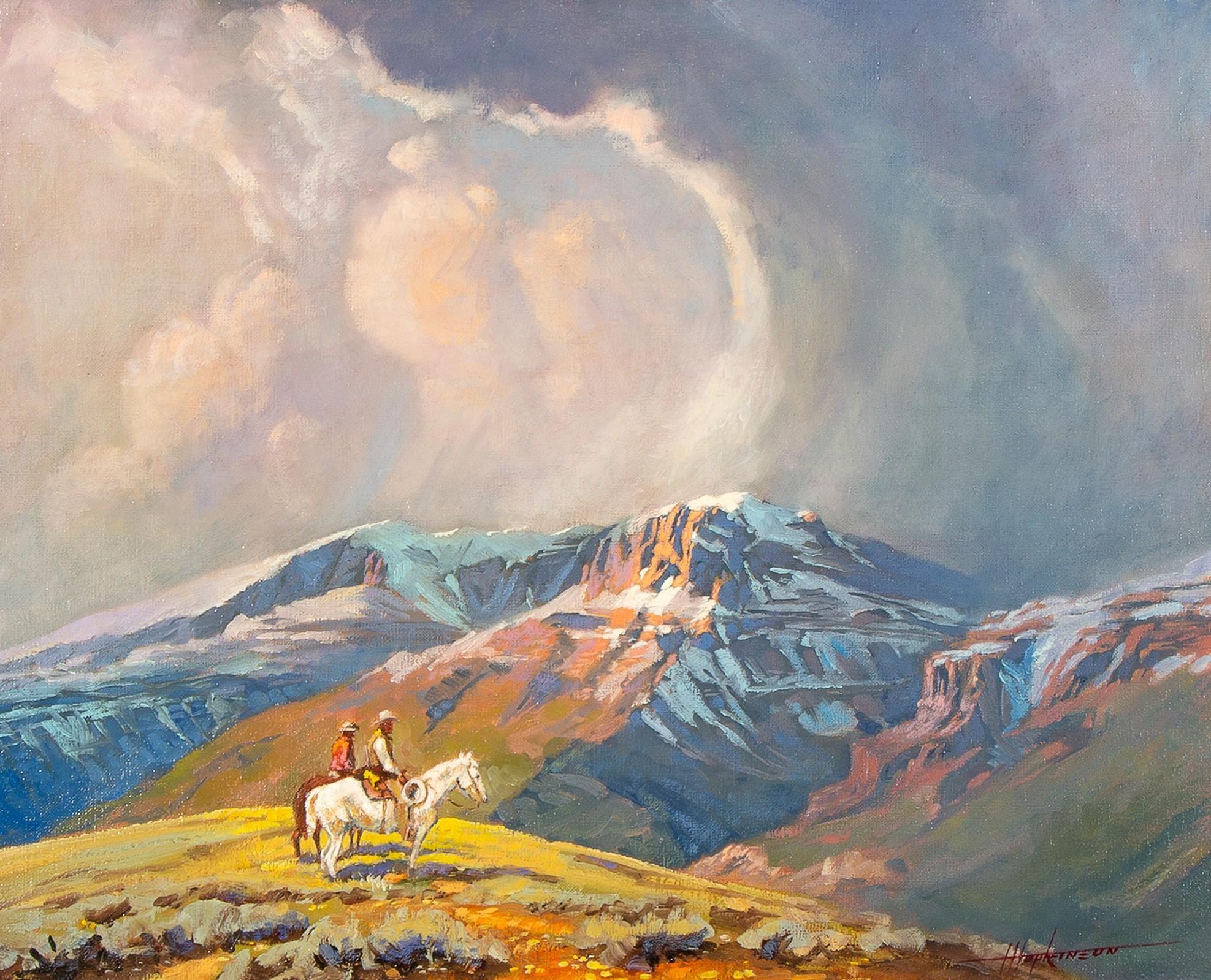 Harold Hopkinson, Threatening Sky, 1974