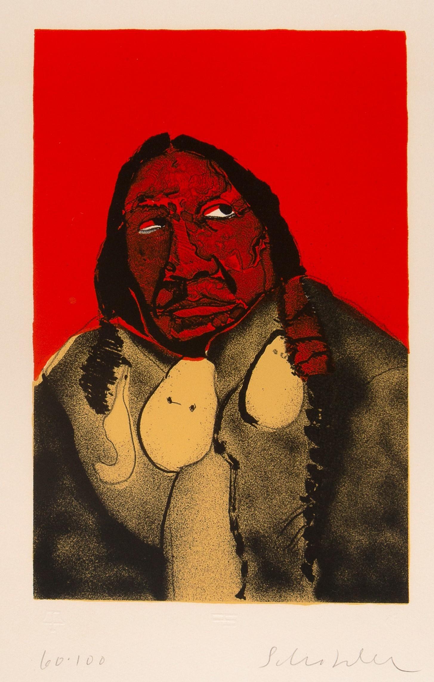 Fritz Scholder, Indian Portrait No. 2 (First State), 1973