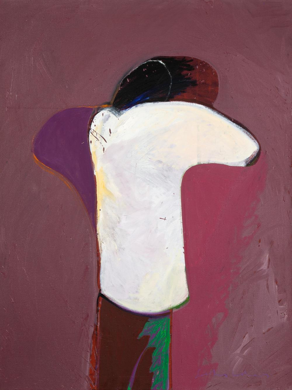 Fritz Scholder, American Portrait #52, 1982