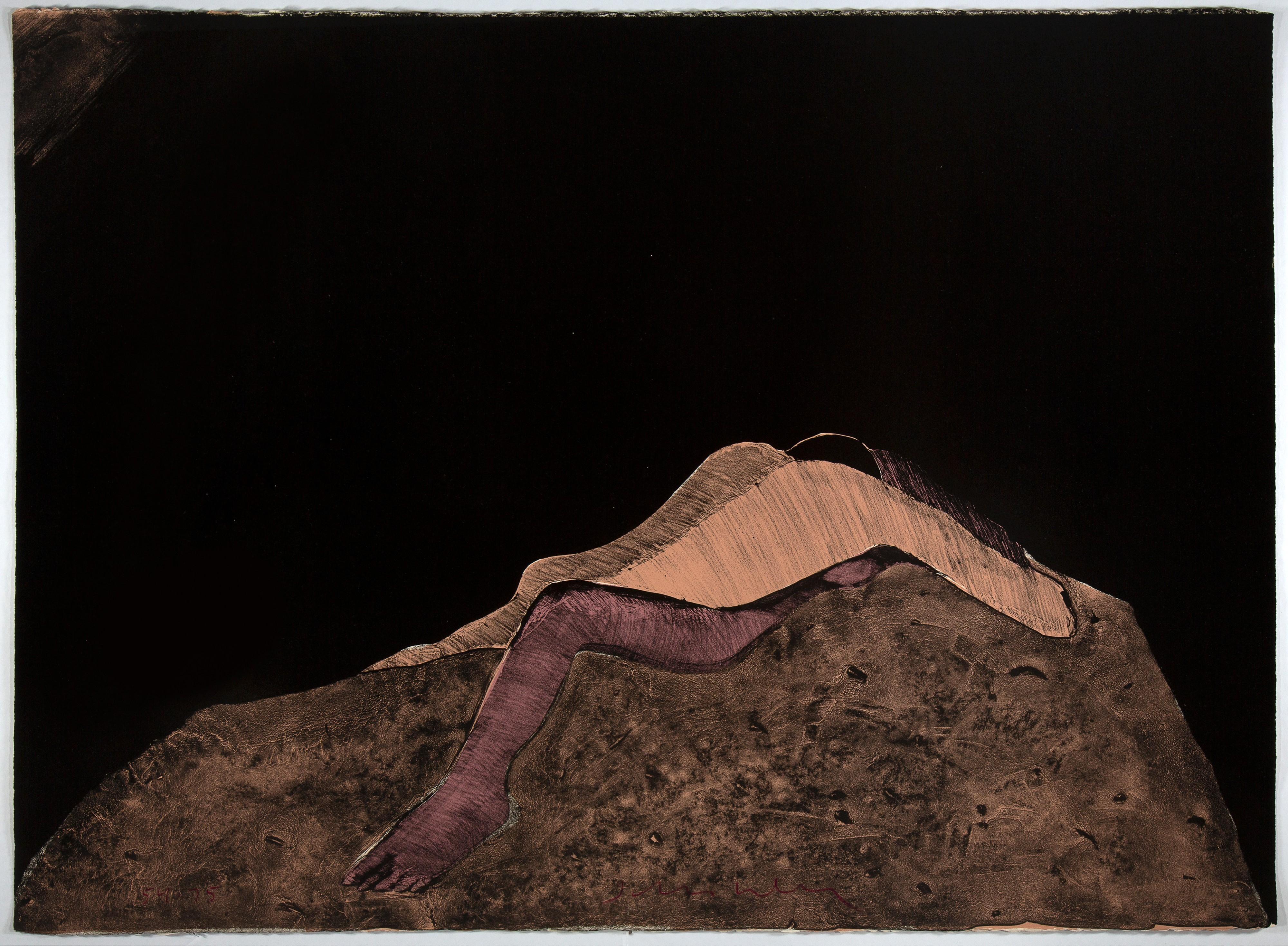 Fritz Scholder, Third Dream, 1981