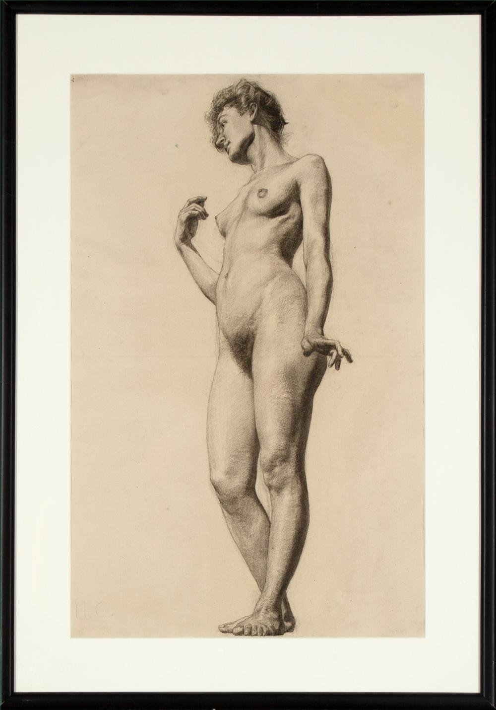 Walter Ufer, Standing Female Nude