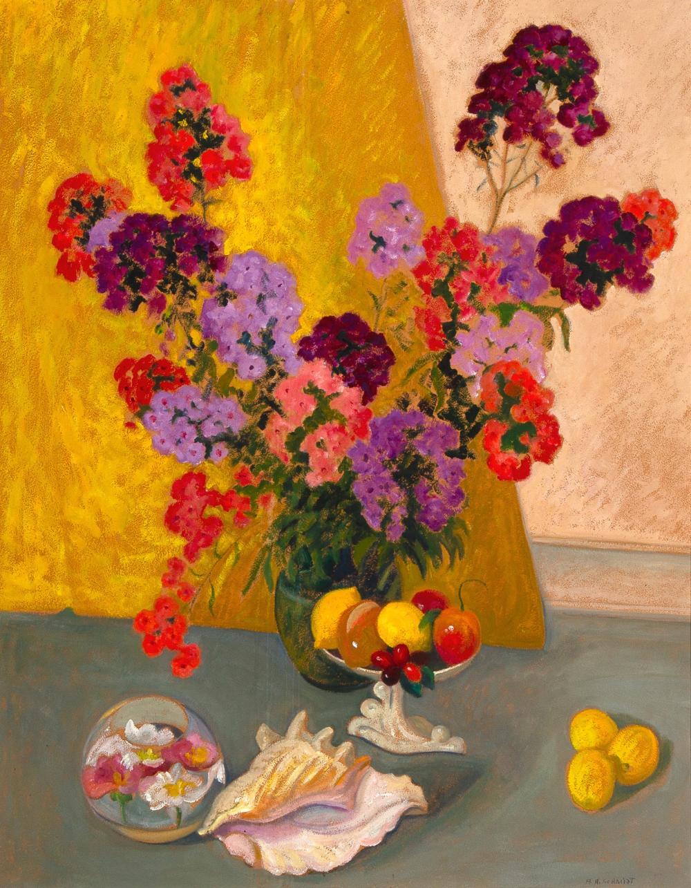 Albert Schmidt (1885 - 1957) — Still Life with Conch