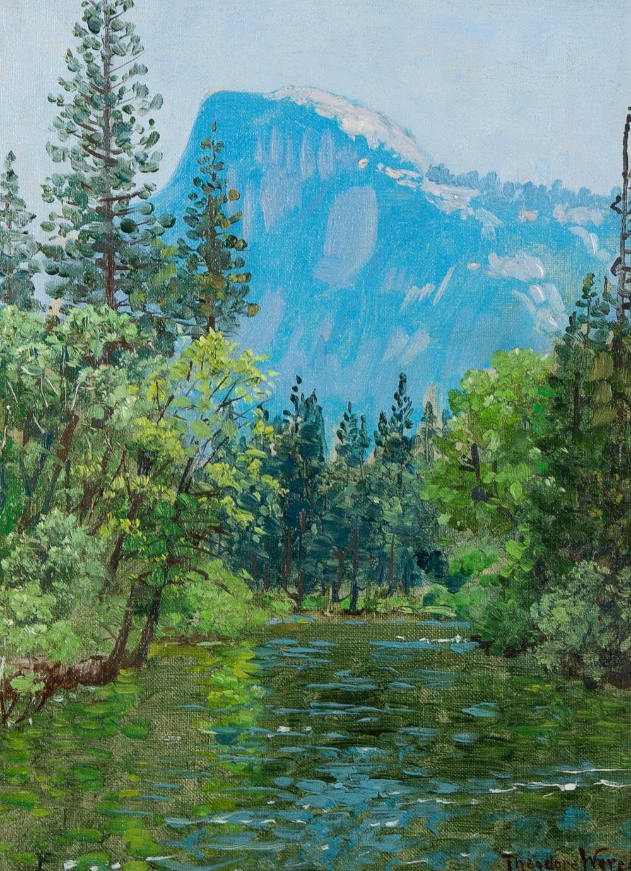 Theodore Wores, Half Dome, Yosemite, 1930