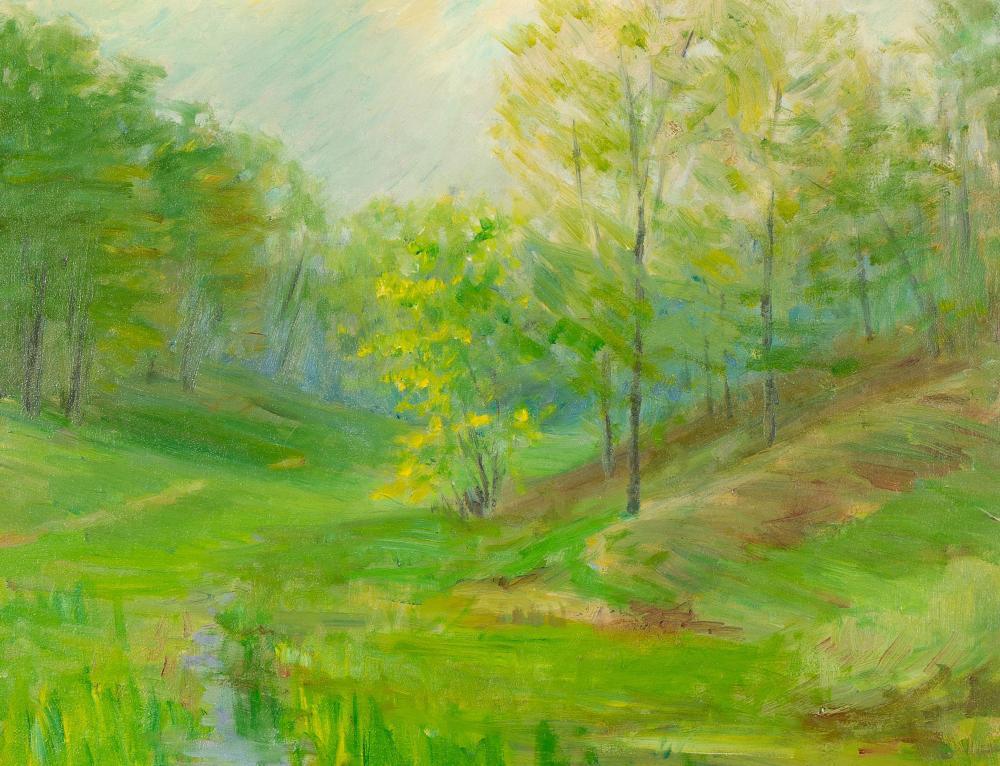 Bert Geer Phillips, Untitled (Spring Landscape)