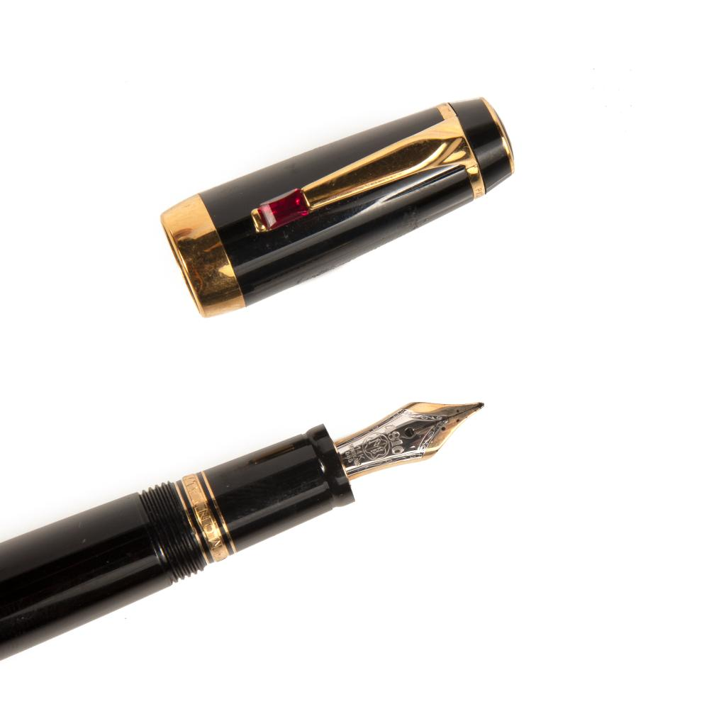 A Pair of Montblanc / Unsigned Pens
