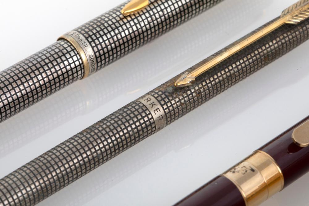 A Group of Montblanc / Parker Writing Instruments