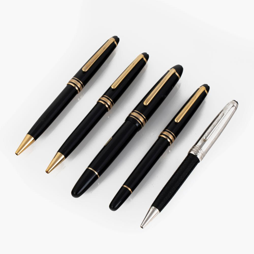 A Group of Montblanc Writing Instruments