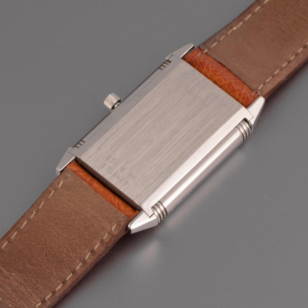 Jaeger LeCoultre Reverso Stainless Steel Reversible Wristwatch